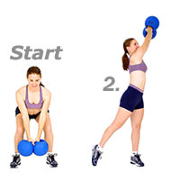 exercise ball - medicine ball - fitness ball - FREE exercises