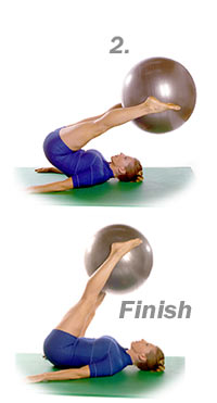 Corkscrew with Swiss Exercise Ball  2