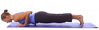 Yoga Position: Chataranga Dandasana 1