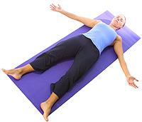 Yoga: Svanasana/corpse 1
