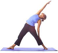 Yoga: Reverse Triangle