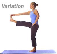 yoga standing oneleg balance