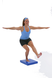 Balance Exercises Using A Balance Pad